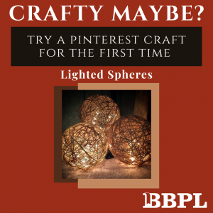 Lighted Spheres instructions
