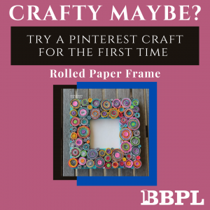 Rolled paper frame instructions