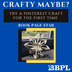 Book page star instructions