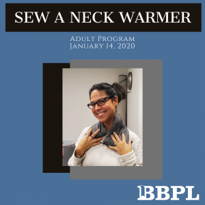 Neck warmer sewing instructions