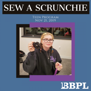 Scrunchie sewing instructions