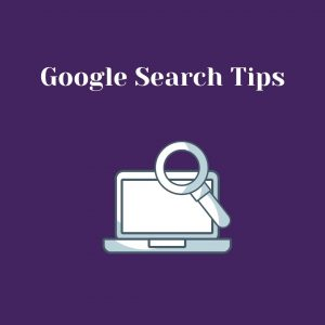 Google search tips pdf