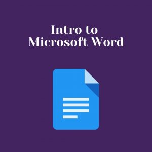 Introduction to microsoft word pdf